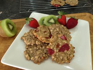 Quick, easy & yummy 2 ingredient oat cookies