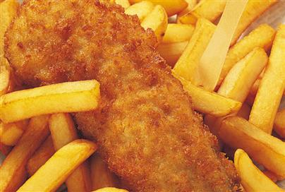 make your own healthier takeaway fish & chips