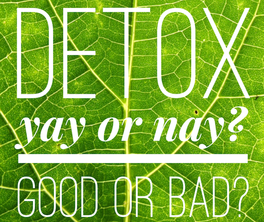 Should you do a detox or cleanse?