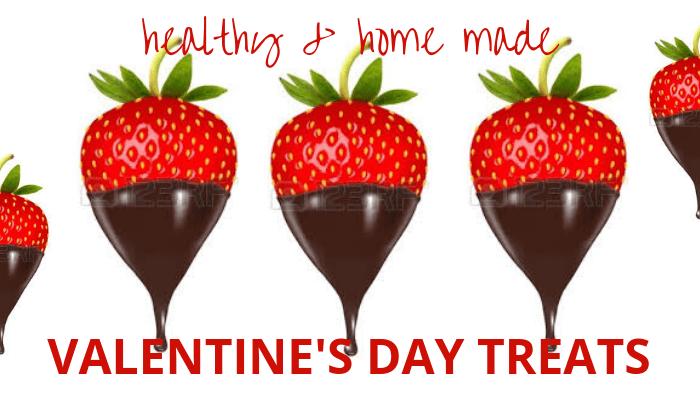 Simple, indulgent Valentine's treats
