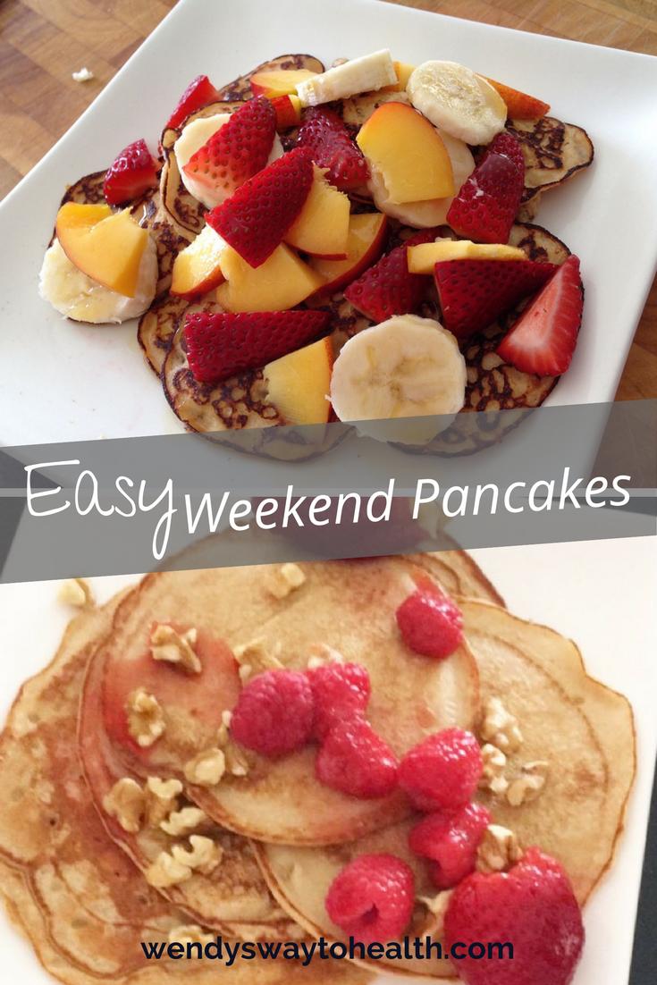 Wendy's Way easy weekend pancakes
