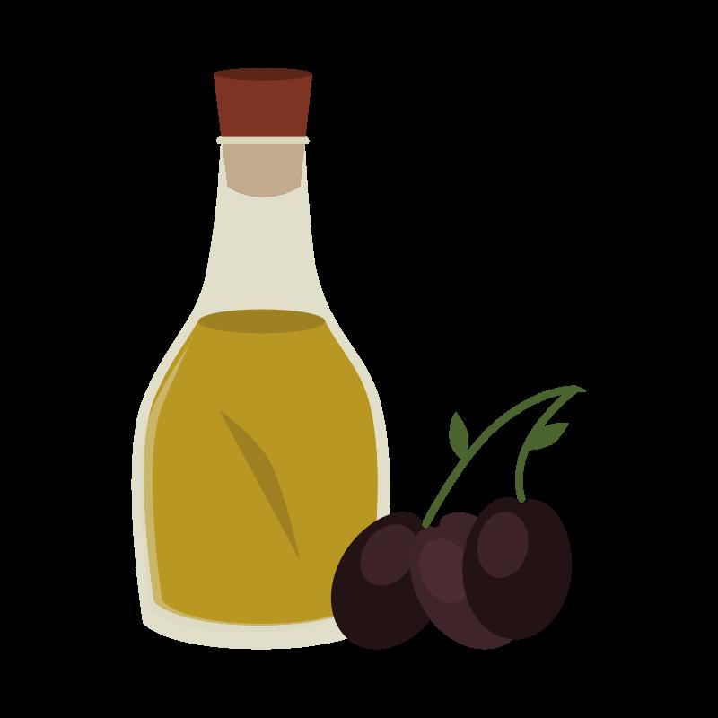 a bottle of olive oil