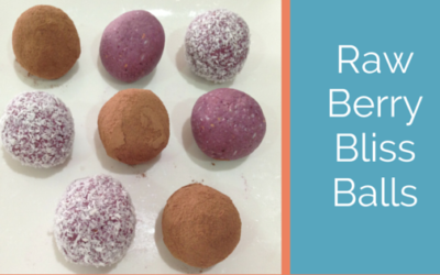 Berry bliss balls
