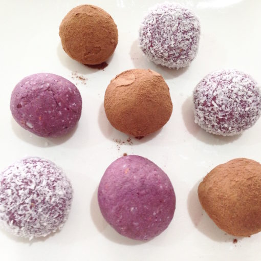 Wendy's Way berry bliss balls