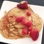 pancakes with strawberries and syrup 3