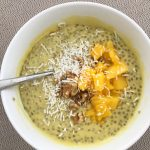 Creamy, delicious mango chia pudding from Wendy's Way to Health