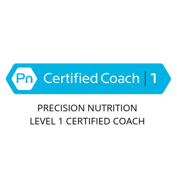 Precision Nutrition certified logo