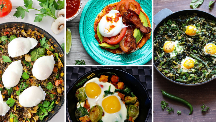 29 egg breakfast recipes blog header