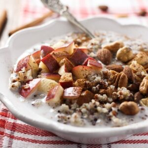Apple-Cinnamon-Quinoa-Breakfast