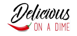 Delicious on a Dime logo