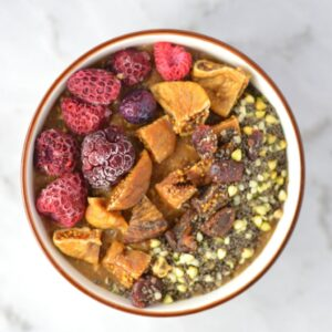 Fruit-Figs-and-Peanut-Butter-Coffee-Oatmeal