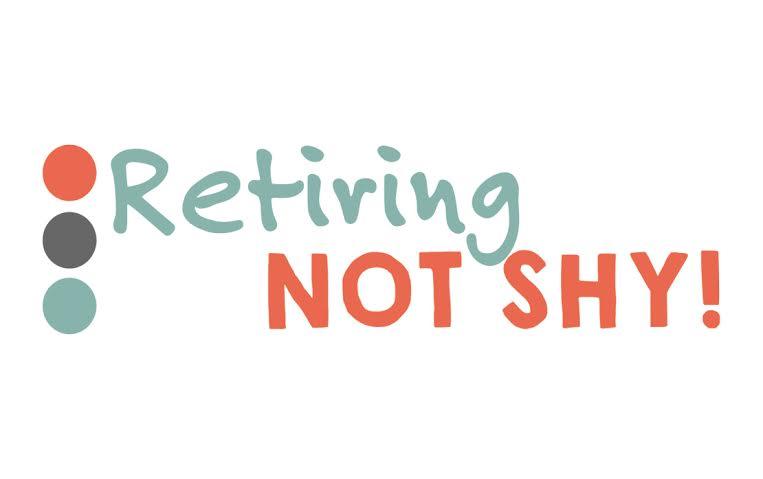 Retiring not Shy logo
