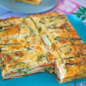 Sweet-potato-and-zucchini-healthy-strata-bake