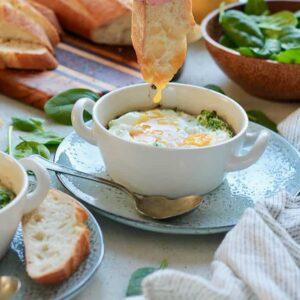 ricotta_spinach_egg_bake