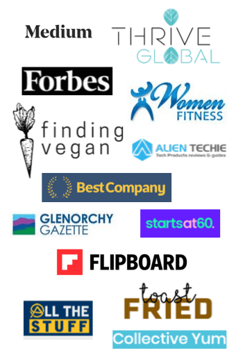 Logo cluster of brands that Wendy has worked with